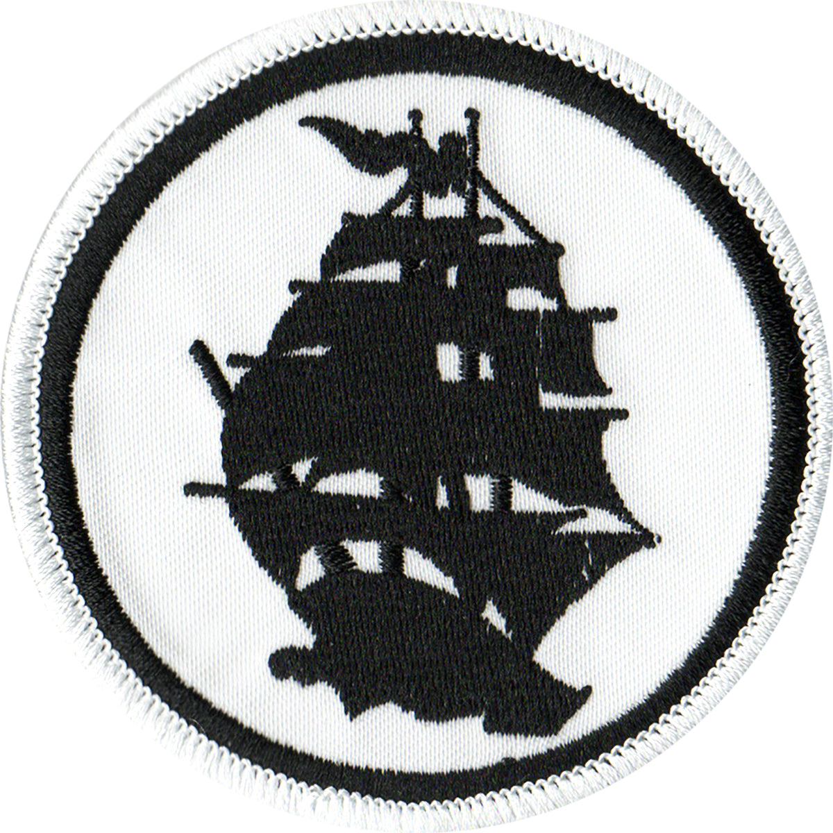 Pirates Press - Circle Logo - Patch - Embroidered - 3""