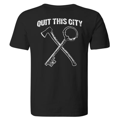 Territories - Quit This City - Black - T-Shirt