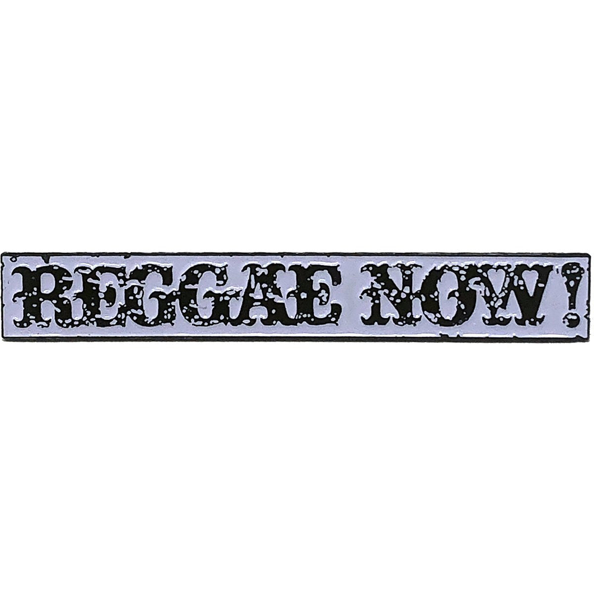 "The Aggrolites - Reggae Now! Text - 2.5"" Enamel Pin"