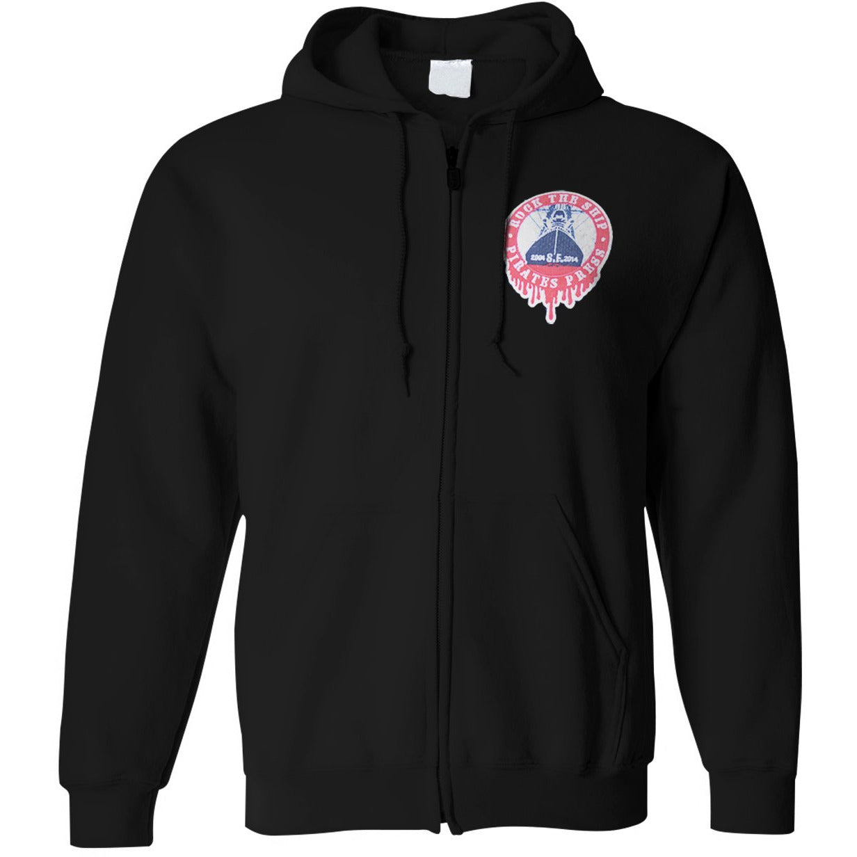 Pirates Press 10th Anniversary - Rock The Ship - Zip-Up Hoodie