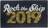 Pirates Press 15th Anniversary - Rock The Ship - Circle Logo Rectangle Patch - Camo - Hat
