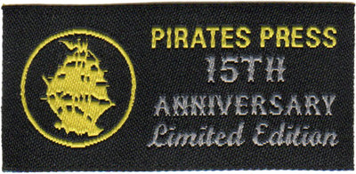 Pirates Press 15th Anniversary - Dannyboy Smith - Black - T-Shirt