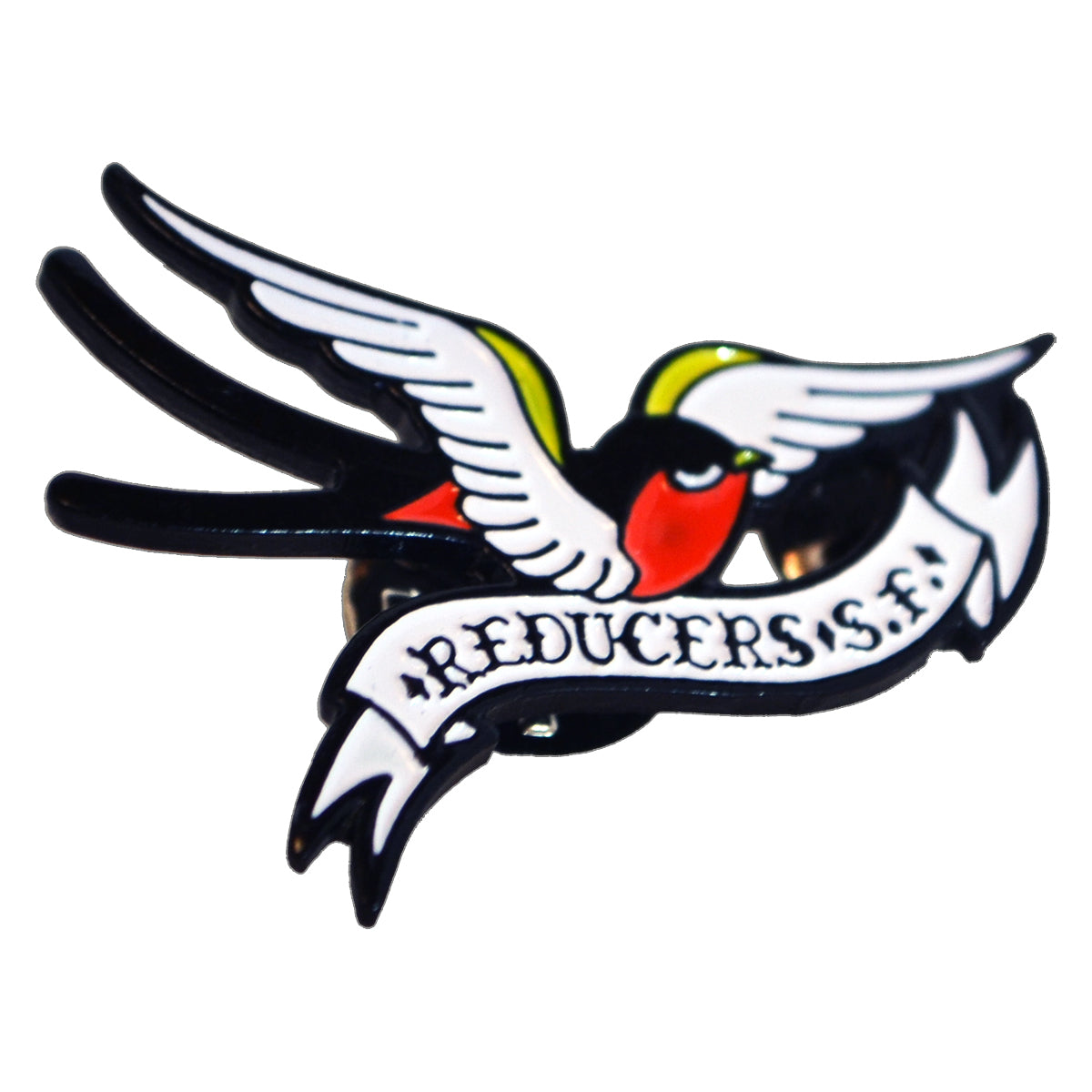 "Reducers SF - Bird Logo - 1.5"" Enamel Pin"
