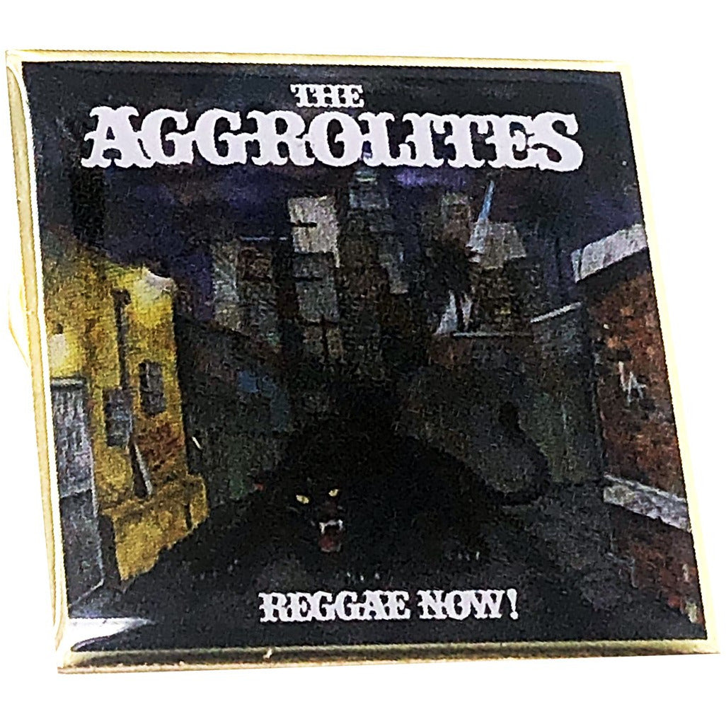 "The Aggrolites - Reggae Now! Album Cover - 1.25"" Enamel Pin"
