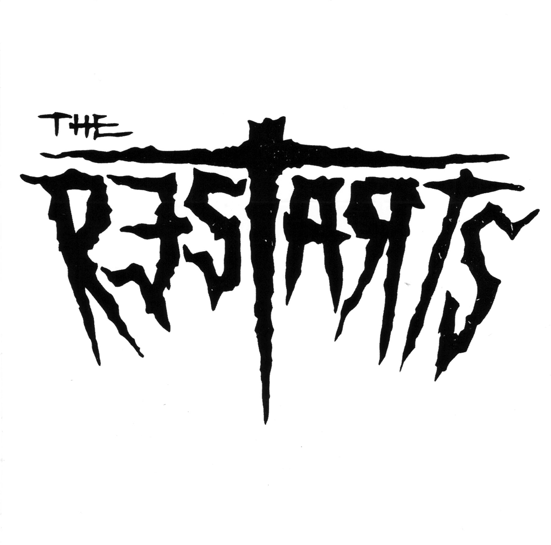 "The Restarts - Logo - Vinyl Sticker - 4""x4"""
