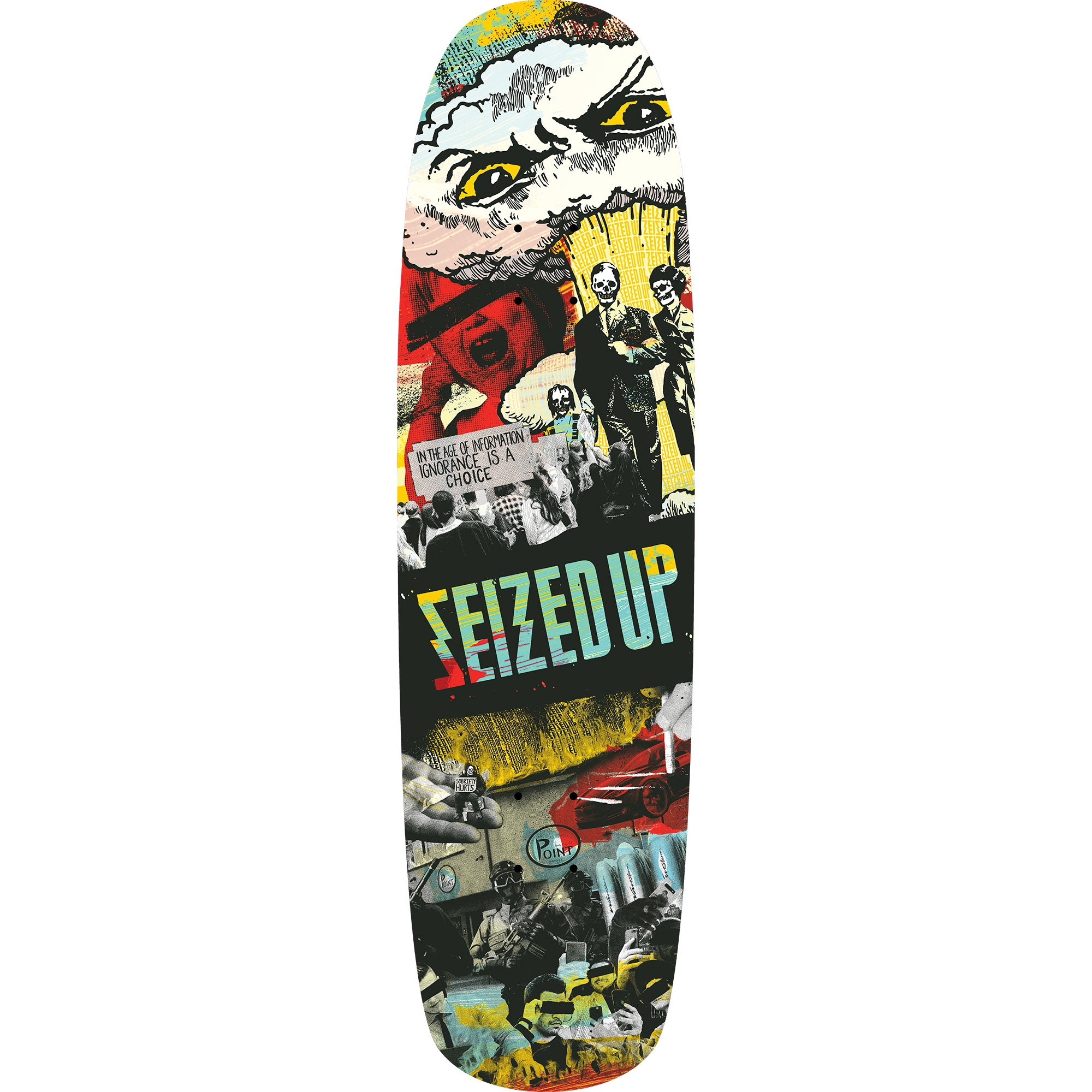 Seized Up - Brace Yourself - Skateboard Deck