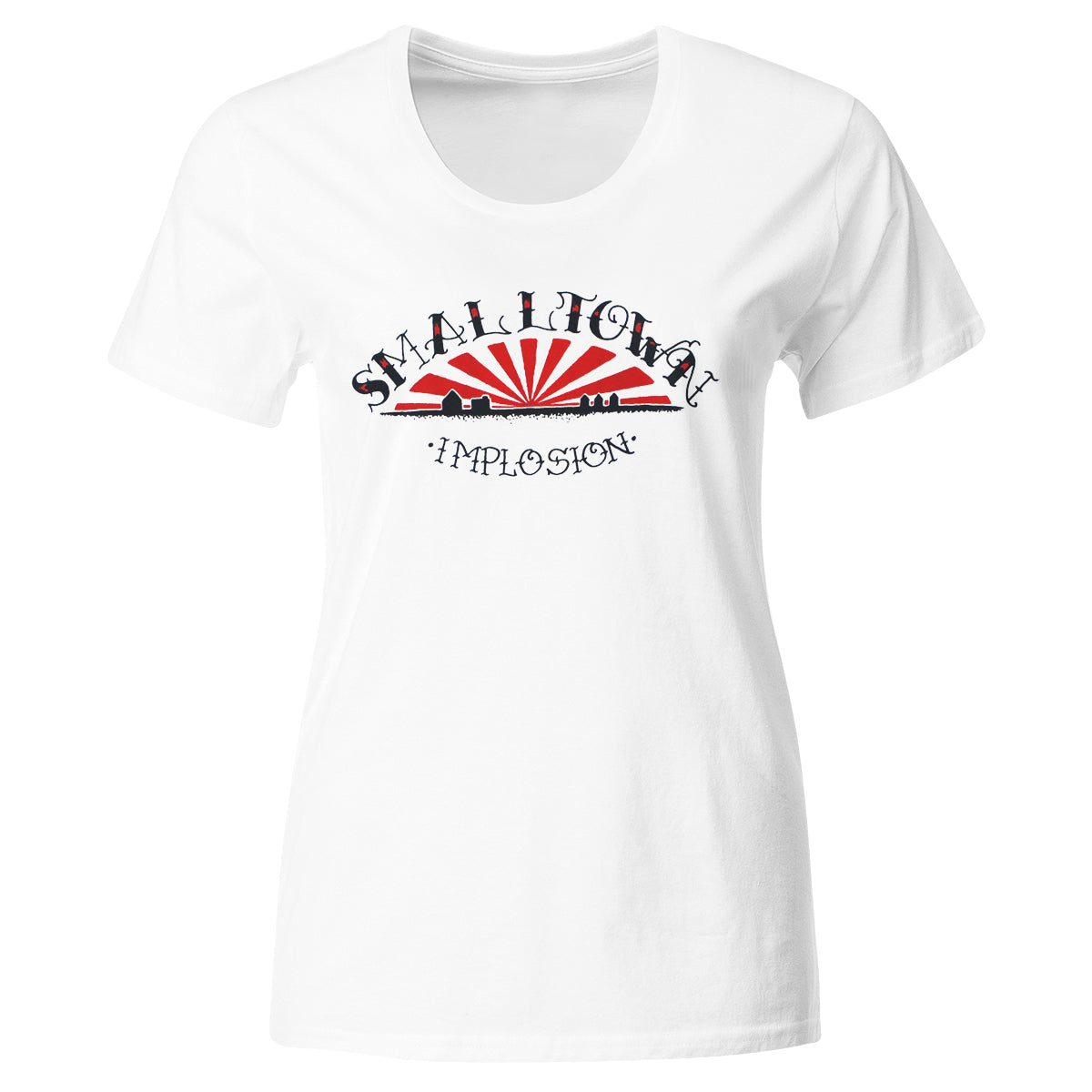 Smalltown - Implosion - T-Shirt - Fitted