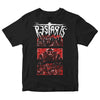 The Restarts - EP Cover - Black - T-shirt