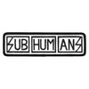 Subhumans - Text Logo - Patch - Printed Work Shirt Style