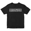 Subhumans - Horizontal Logo - Black - T-shirt