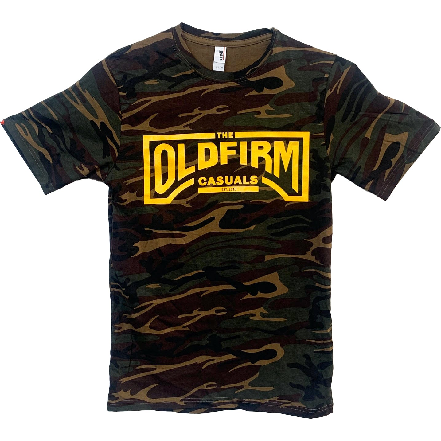 The Old Firm Casuals - Logo - Camo - T-Shirt