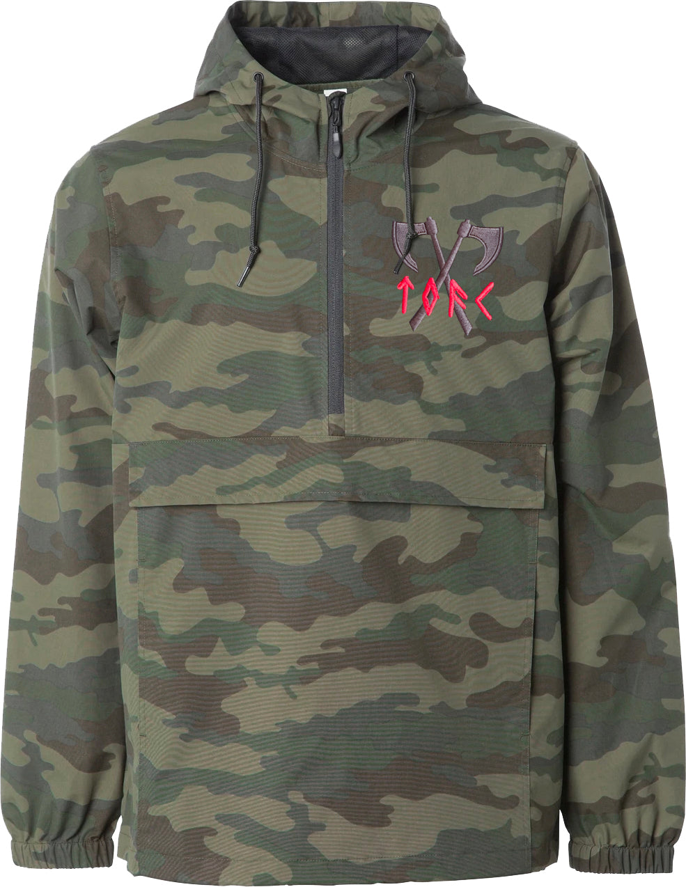 The Old Firm Casuals - Axes - Windbreaker Jacket - Camo