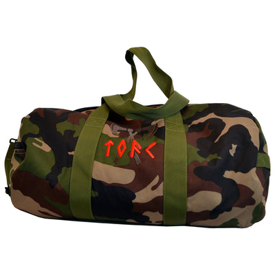 The Old Firm Casuals - Logo - Duffle Bag - Camo