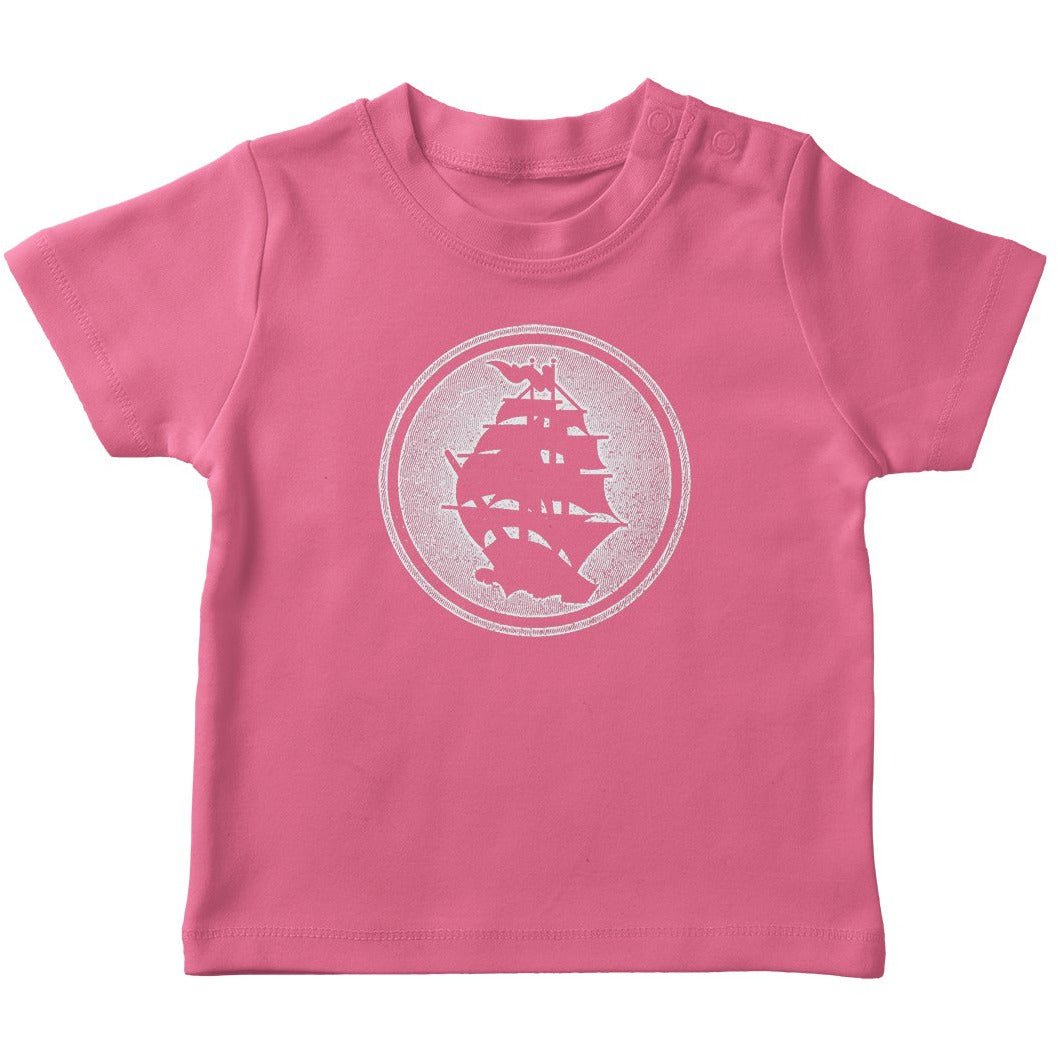 Pirates Press - Circle Logo - Pink - Toddler T-Shirt