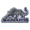 "The Aggrolites - Aggropanther - Black & White on Silver - 1.5"" Enamel Pin"