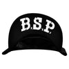 The Bar Stool Preachers - Skull Logo - Black w/ Black Mesh - Snapback Hat