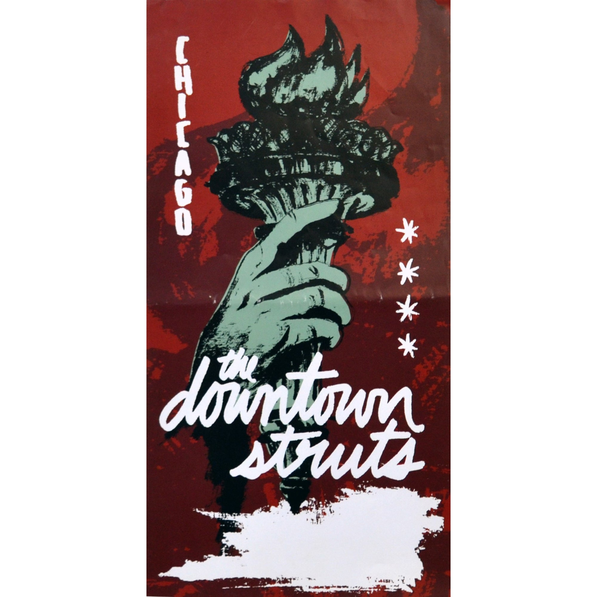 Downtown Struts - Sail The Seas Dry Tour - Poster