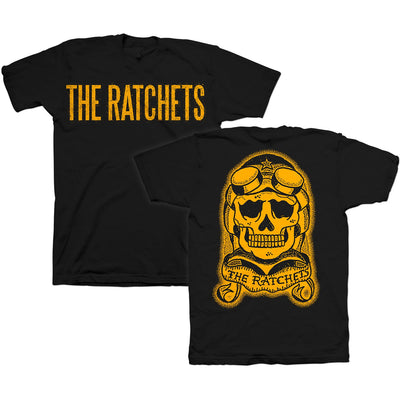 The Ratchets - Skull Logo - Black - T-Shirt - Youth