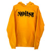 NOi!SE - Logo - Black On Yellow - Hooded Sweatshirt