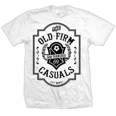 The Old Firm Casuals - Crest - Black or White - T-Shirt