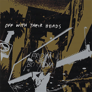 Off With Their Heads - From The Bottom LP - Milky Clear/Glow In The Dark Blue