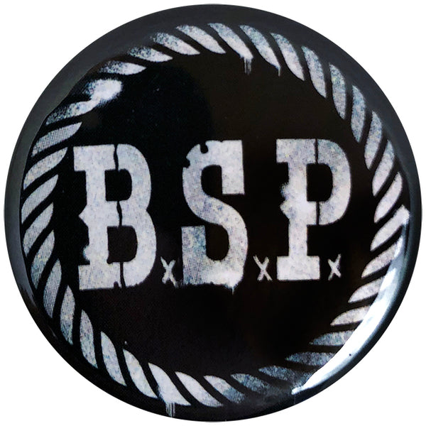 "The Bar Stool Preachers - BSP Stencil - 1"" Button"