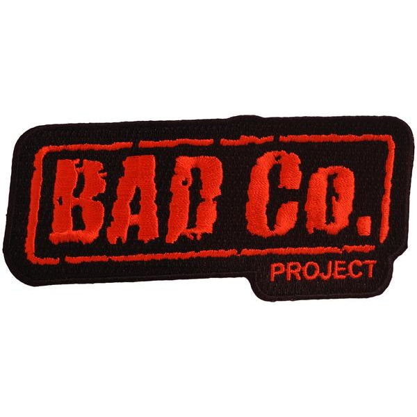 "Bad Co. Project - Patch - Embroidered 4"" x 2"""