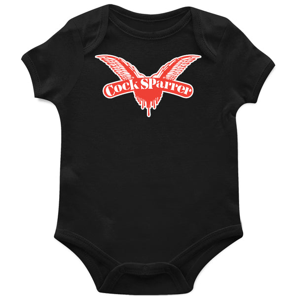Cock Sparrer - Wings - Black - Onesie
