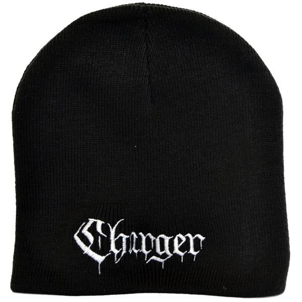 0e53ee88 Charger - Text Logo - Embroidered Beanie