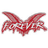 "Cock Sparrer - Forever - Red - XL Patch - Embroidered - 12"" x 6"""