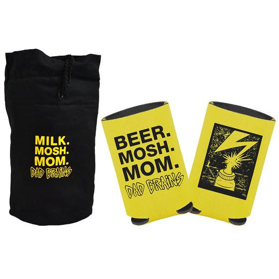 Dad Brains - Milk, Mosh, Mom - Coozie set