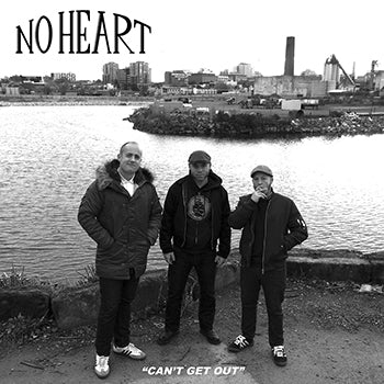 "NO HEART - ""Can't Get Out"" LP"