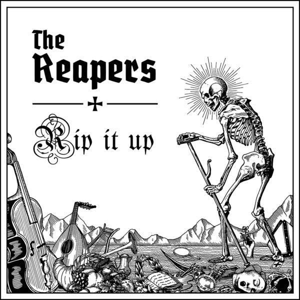 "THE REAPERS - ""Rip It Up"" LP - Black Vinyl"