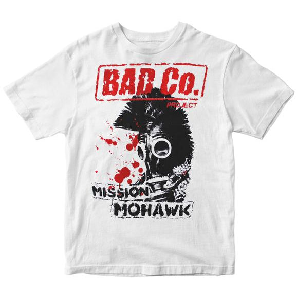 Bad Co. Project - Mission Mohawk - White - T-Shirt