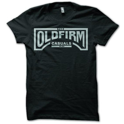 The Old Firm Casuals - Logo - Black - T-Shirt
