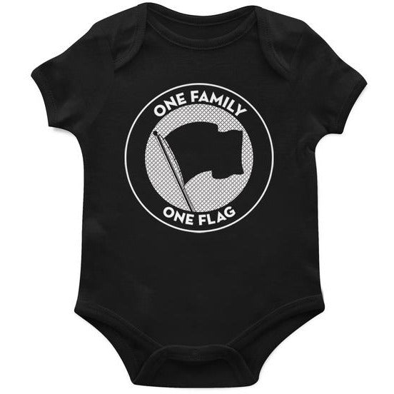 Pirates Press Records - One Family One Flag - Onesie