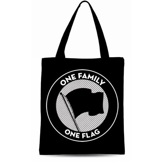 Pirates Press Records - One Family One Flag - Tote Bag