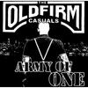 "Old Firm Casuals - Army of One 7"" - Black"