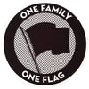 Pirates Press Records - One Family, One Flag - Mousepad