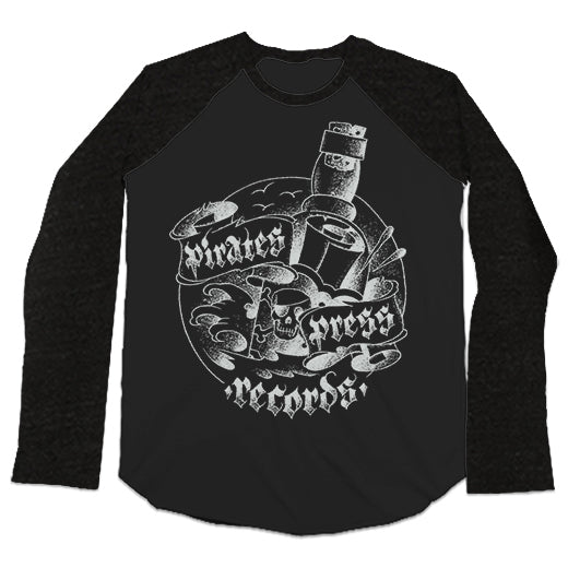 Pirates Press Records - Bottle - Baseball Tee