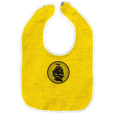 Pirates Press - Circle Logo - Baby Bib