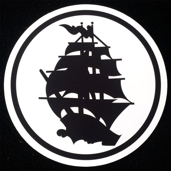 Pirates Press - Circle Logo - DJ Slipmat