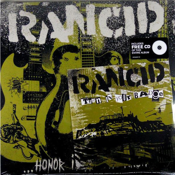 Rancid - Honor Is All We Know - LP w/ Bonus 7-inch