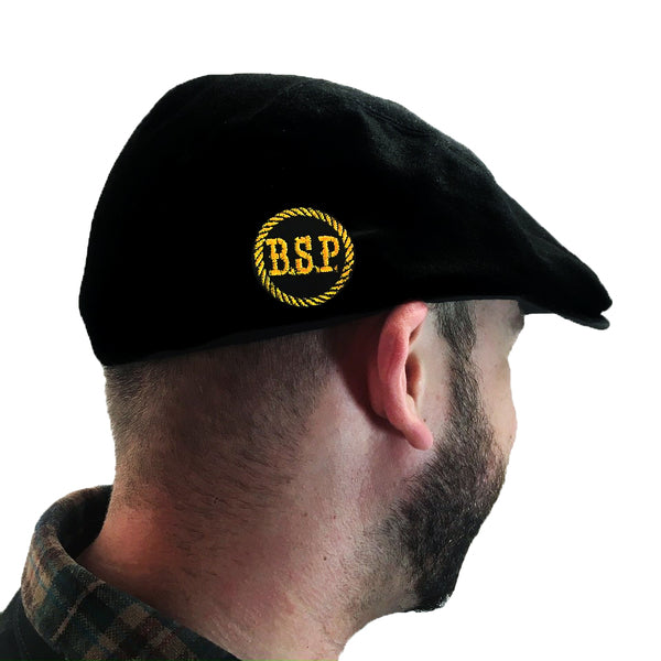 The Bar Stool Preachers - BSP Stencil - Black - Embroidered - Scally Cap