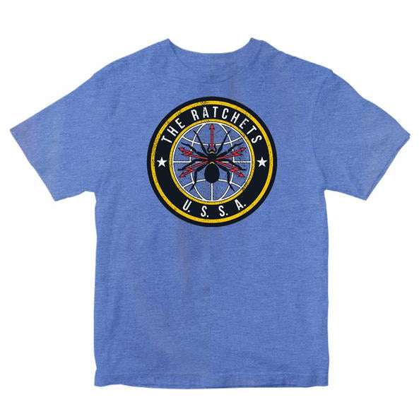 The Ratchets - Spider - Blue - T-Shirt