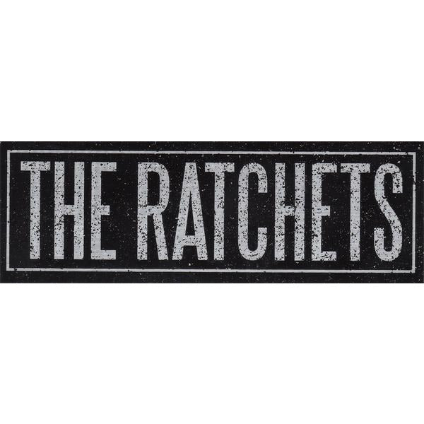 Ratchets - Logo - Chrome - Sticker
