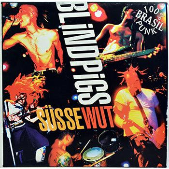 Blind Pigs - Susse Wut LP - Black