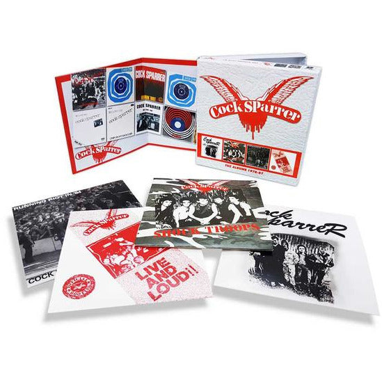 Cock Sparrer - The Albums 1978-87 - CD Boxset