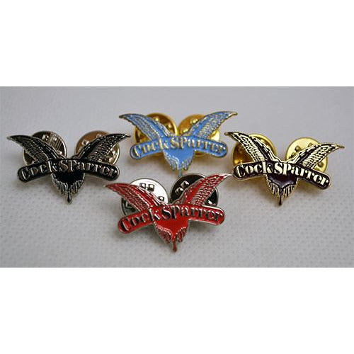 "Cock Sparrer - Wings - 1.25"" Enamel Pin"