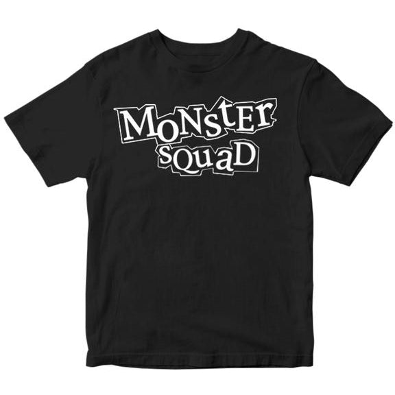 Monster Squad - Logo - Black - T-Shirt